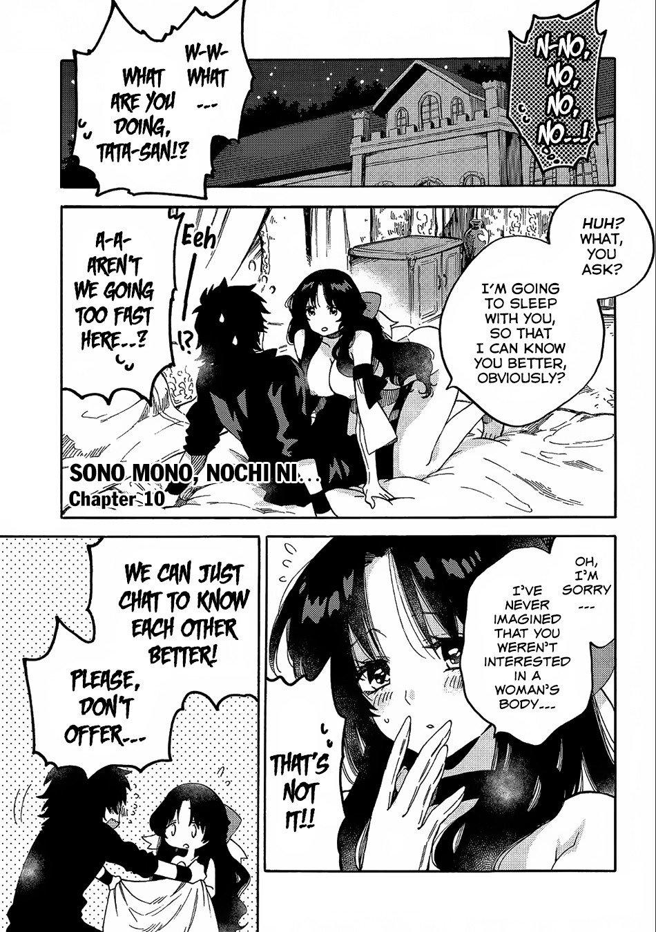 Manga Sono mono. Nochi ni... - Chapter 10 Page 2