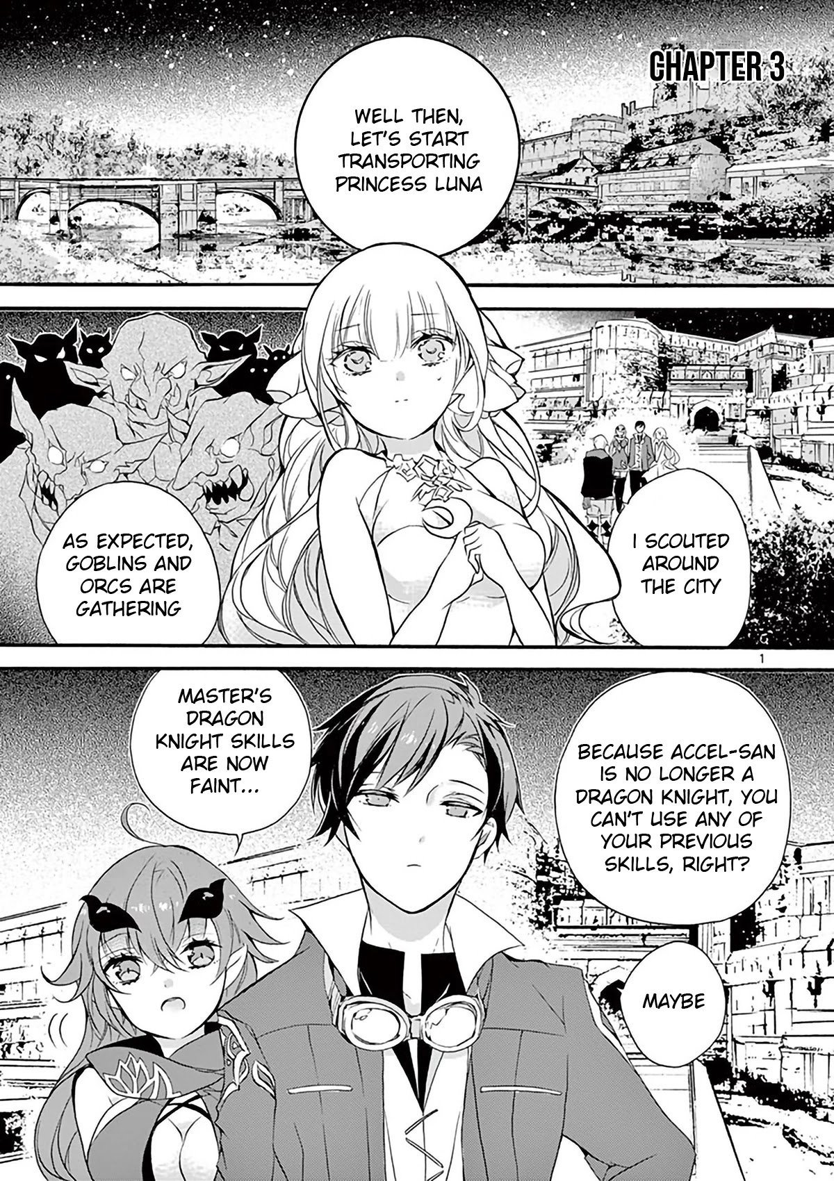 Manga From The Strongest Job of Dragon Knight, To The Beginner Job Carrier, Somehow, I Am Dependent On The Heroes - Chapter 3 Page 2