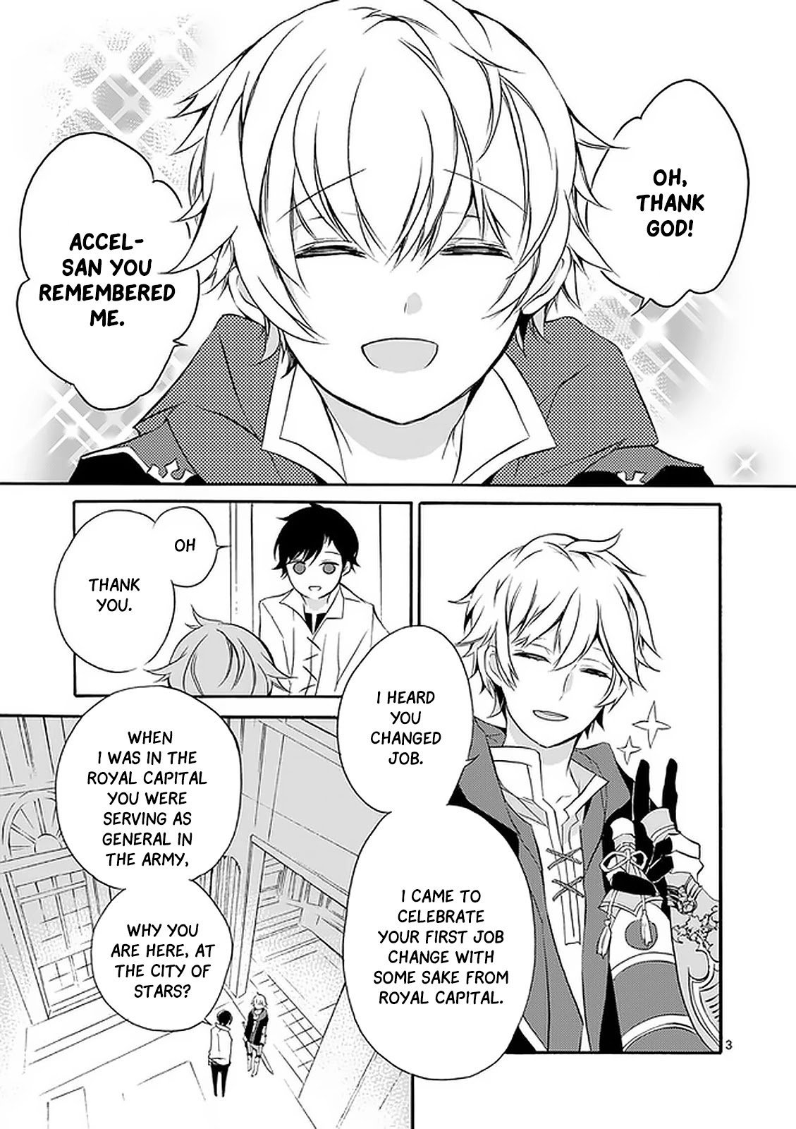 Manga From The Strongest Job of Dragon Knight, To The Beginner Job Carrier, Somehow, I Am Dependent On The Heroes - Chapter 2 Page 4