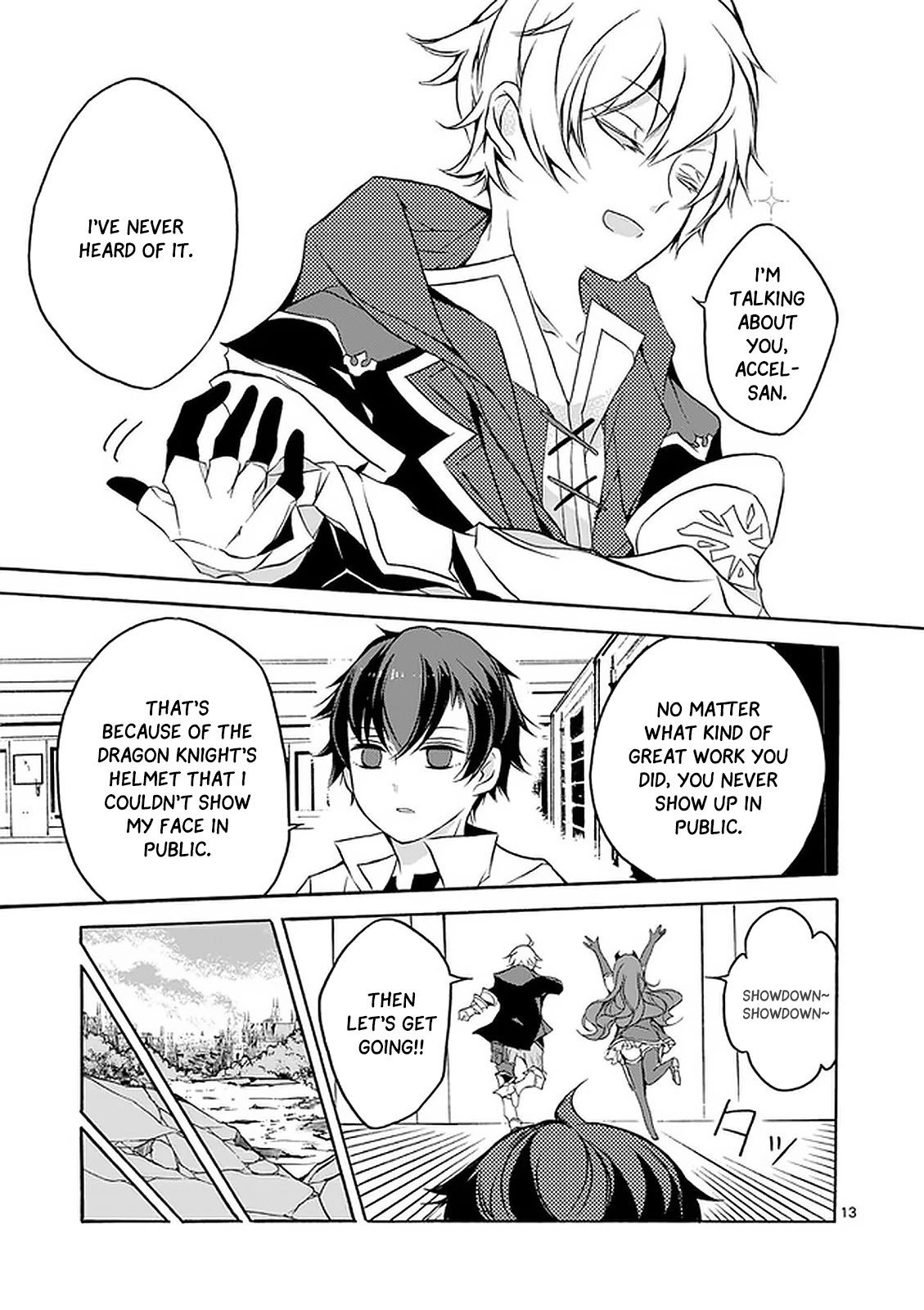 Manga From The Strongest Job of Dragon Knight, To The Beginner Job Carrier, Somehow, I Am Dependent On The Heroes - Chapter 2 Page 14