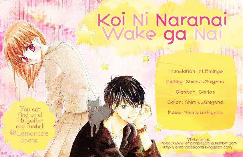 Manga Koi ni Naranai Wake ga Nai - Chapter 6 Page 1
