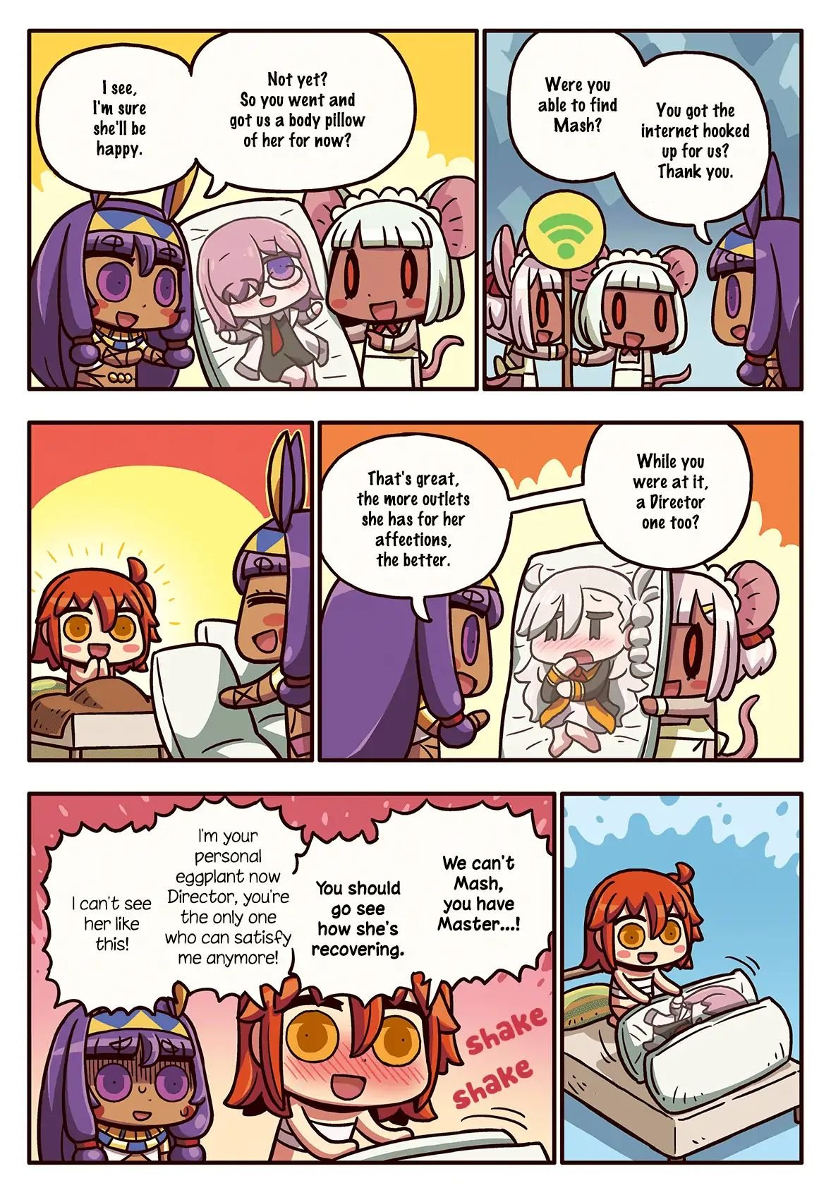 Manga Even More Learning with Manga Fate/Grand Order - Chapter 201 Page 1