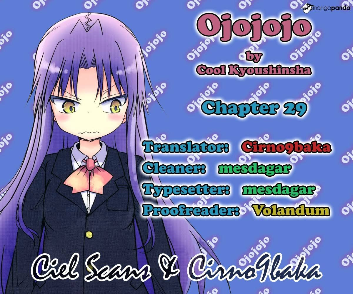 Manga Ojojojo - Chapter 29 Page 1