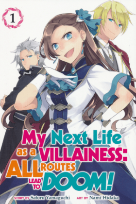 I Reincarnated into an Otome Game as a Villainess With Only Destruction Flags… - Постер