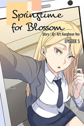Springtime for Blossom - Poster